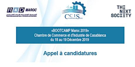 «BOOTCAMP Maroc 2019» billets