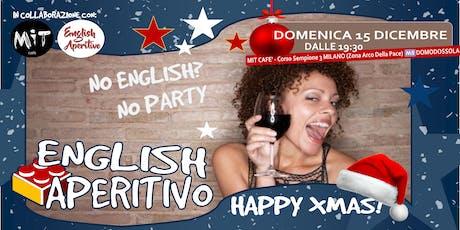 English Aperitivo: Happy Xmas! biglietti
