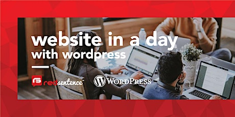 'Website in a day' with WordPress tickets