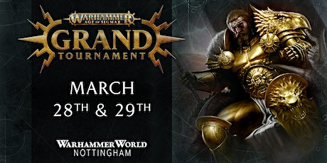 Warhammer Age of Sigmar Grand Tournament – March 2020 tickets