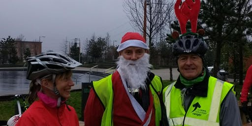 Santa Cycle - Titanic Quarter