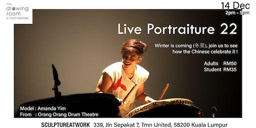 Live Portraiture 人像素描:24 Festival Dance