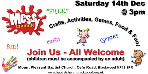 Messy Church Christmas Party 2019