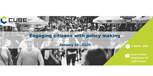 Engaging citizens with policy making