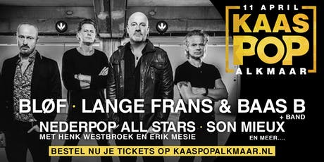 KaasPop Alkmaar tickets
