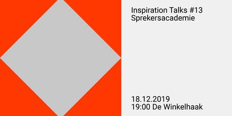 Inspiration Talks #13 tickets