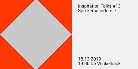 Inspiration Talks #13 tickets