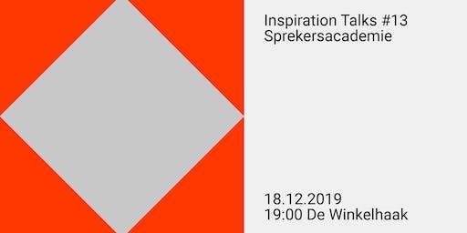 Inspiration Talks #13