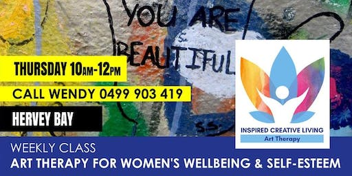 Art Therapy for Women - build your self worth