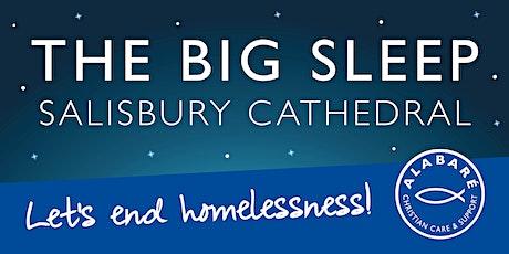 The BIG Sleep at Salisbury Cathedral 2020 tickets