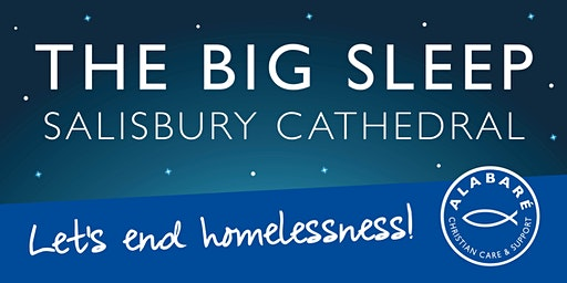 The BIG Sleep at Salisbury Cathedral 2020