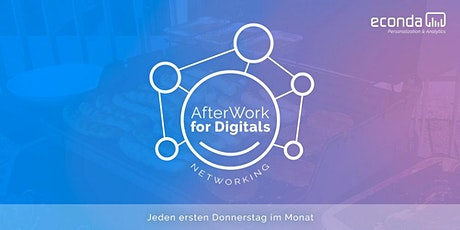 econda AfterWork for Digitals Tickets