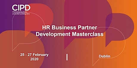 HR Business Partner Development - Masterclass tickets