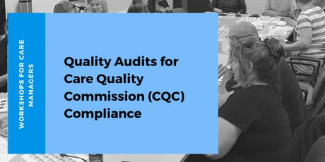 Quality Audits for Care Quality Commission (CQC) Compliance tickets