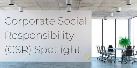 Corporate Social Responsibility Spotlight tickets