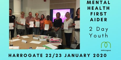 MHFA 2 day Youth Mental Health First Aid course tickets