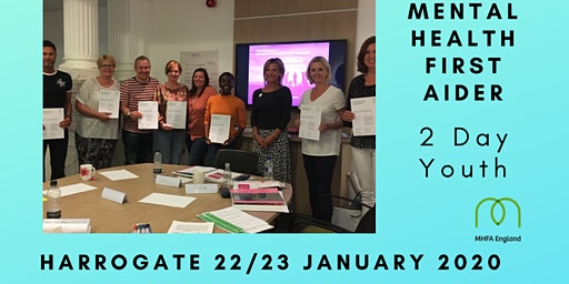 MHFA 2 day Youth Mental Health First Aid course