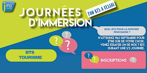 JOURNÉES D'IMMERSION BTS TOURISME