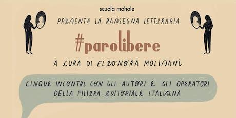 L'autofiction | #parolibere biglietti