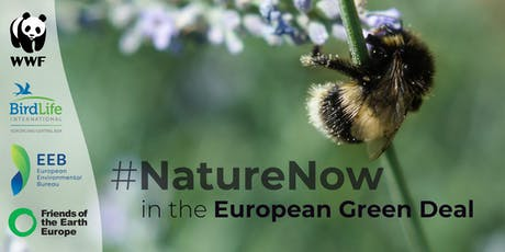 #NatureNow in the European Green Deal tickets