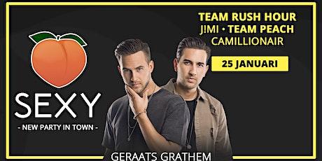SEXY Geraats Grathem • New Party in Town • Zaterdag 25 januari tickets
