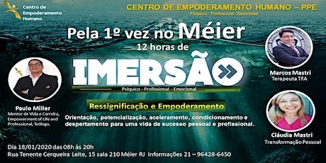 CENTRO DE EMPODERAMENTO HUMANO -12 HORAS DE IMERSÃO/MÉIER ingressos