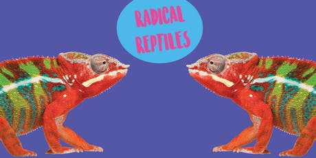 Radical Reptiles- Art Class For Older Kids tickets