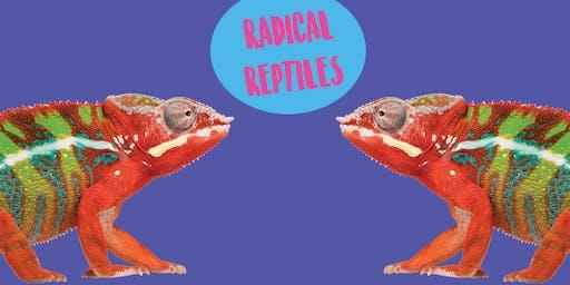 Radical Reptiles- Art Class For Older Kids