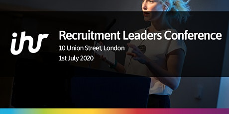 In-house Recruitment Leaders Conference 2020 tickets