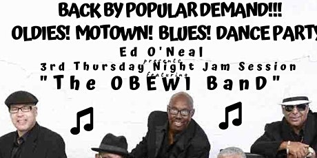 CONYERS -  3rd THURSDAY Night LIVE BLUES JAM Session & Open Mic! tickets