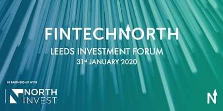 FinTech North Investment Forum tickets