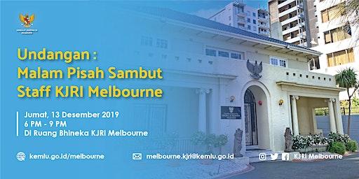 Malam Perpisahan Pejabat KJRI Melbourne