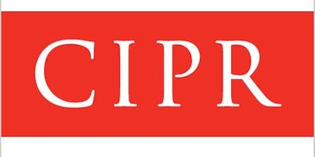 CIPR NI AGM tickets