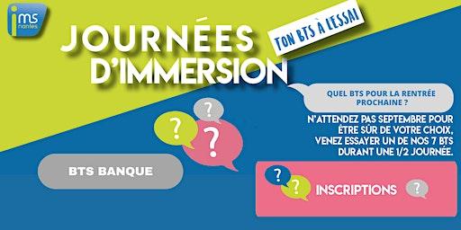 JOURNÉES D'IMMERSION BTS BANQUE
