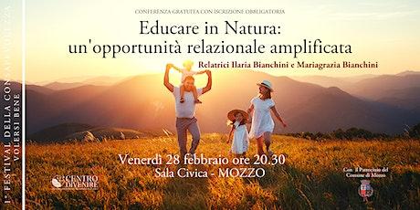 Educare in natura biglietti