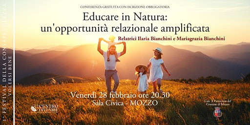 Educare in natura