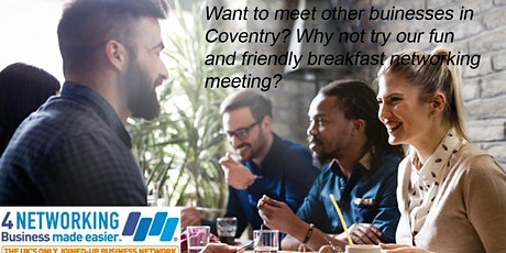 Business Networking Coventry Breakfast  tickets
