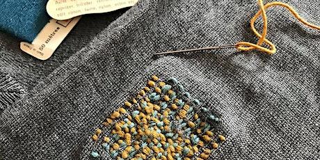 Atelier Upcycling textile & Initiation au reprisage avec NiceWool billets