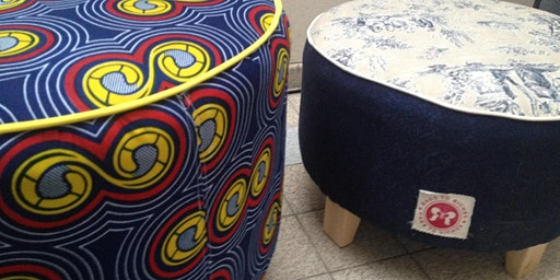 Upholstery - Make a Footstool, 5 Week Evening Course