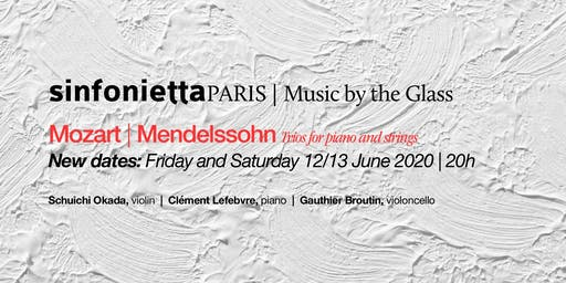 ⟪Music by the Glass⟫ Final season series! Saturday, 13 June 2020 @ 20H