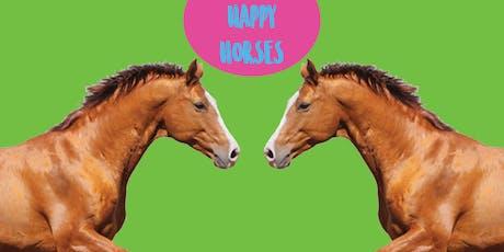 Happy Horses - Family Art Class tickets
