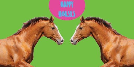 Happy Horses - Family Art Class