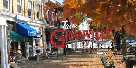 Rotary Taste of Granville 2020 tickets