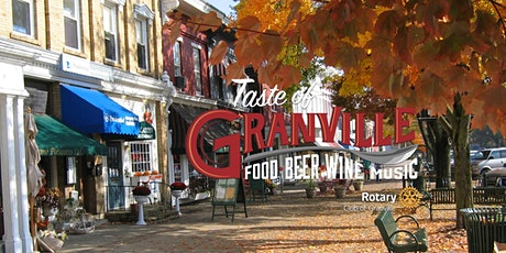 Rotary Taste of Granville 2020 tickets