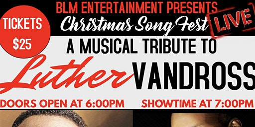 Christmas Song Fest-A Musical Tribute to Luther Vandross (Feat. Danny Clay)
