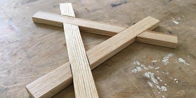 Einführung in die Holzwerkstatt - Topfuntersetzer in Handarbeit