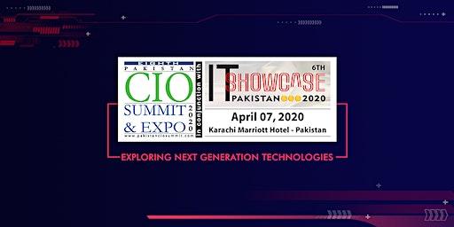 8th Pakistan CIO Summit & 6th IT Showcase Pakistan 2020
