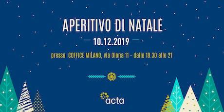 Aperitivo di Natale per freelance 2019 - MILANO biglietti