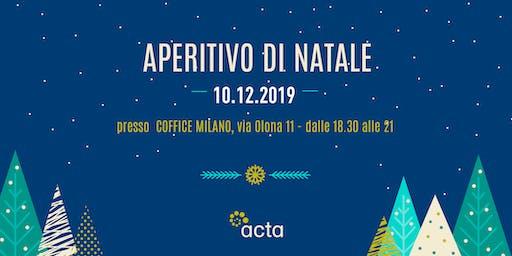 Aperitivo di Natale per freelance 2019 - MILANO