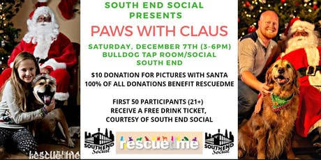 Paws with Claus tickets